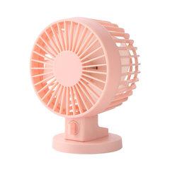 夏季爆款 桌面电风扇 USB风扇 迷你风扇  双叶4寸小风扇 无印同款 粉色 4寸