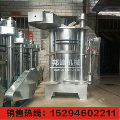 Large walnut oil press cold press high efficiency automatic balm machine 400 hydraulic oil press 1800 * 1300 * 1000