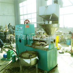 Supply 60 sesame oil frying machine small flow sesame oil press automatic oil press 60