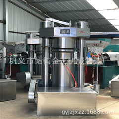 Henan ansheng cold and heat dual purpose oil press screw automatic peanut rapeseed soybean oil press 1700 * 1300 * 1850