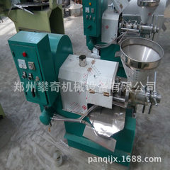 The mobile full-automatic oil press can be operated by the mobile two-phase electric oil press 60