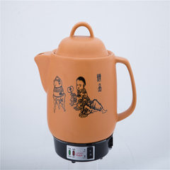 Factory price wholesale rationalization of innovative quality 4L ceramic pot medicine pot self-contr Golden yellow (bright) 4.0 L