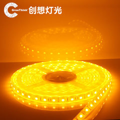 GreeThink 深圳LED软灯条 软灯带厂家 12V5050套管防水60灯 3000K(暖白)