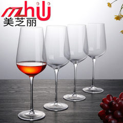 Meizhili new products crystal European red wine glass artificial lead-free goblet wine glass manufac 6.5 * 7.5 * 7.5 cm