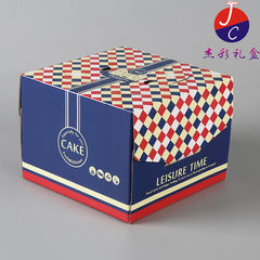 The original manufacturer produces beautiful hand-carried birthday cake box west point box packaging Can be customized