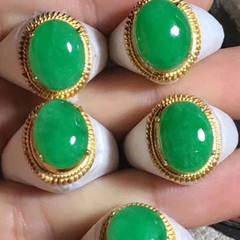 Natural jade ring ring ring green jade ring face wholesale A goods new jade ring face wholesale 18724543174-2 a3m9ynjr - BDUSS = BKMTNuaFF6WFA0U
