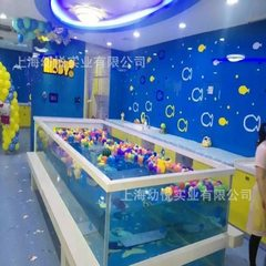 Baby transparent glass swimming pool children`s thermostatic swimming pool manufacturers directly se white