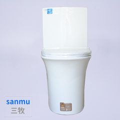 We supply large diameter toilet bowl with large ceramic pipe base and toilet seat Pitch 300