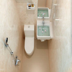 Integrated bathroom SMC integrated bathroom trailer apartment hotel container hospital integrated ba See the information