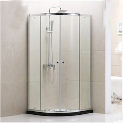 Manufacturer wholesales simple shower room with bottom basin, may paste the card, export, hotel mirr Specification consulting customer service