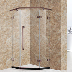 Modern simple shower room fashion hotel apartment bath room stainless steel furniture simple integra 900 * 900 * 1900