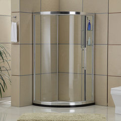 Bathroom manufacturers wholesale bathroom shower screen inside the configuration of the curved shelf 900 * 1000 * 1850 mm