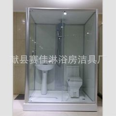 Direct selling integral toilet integration integrated all-in-one bathroom hotel, hotel and hospital  1.5 m * 1.2 m * 2.2 m