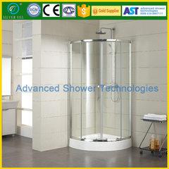 爱斯特淋浴房整体浴室移门钢化玻璃不锈钢配件含底盆扇形浴房 800*1200*1850