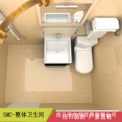Integrated shower room bathroom SMC material hotel residential hospital cruise aircraft container ro 1300 * 1800 * 2250