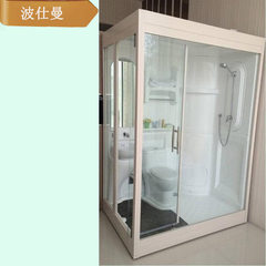 The integral bathroom shower room of five-star apartment integrates waterproof sound insulation of o 1300 * 2000 * 2250