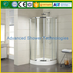 Stainless steel fan shower room simple shower room tempered glass shower room integral bathroom door 900 * 900 * 1850