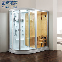 Mona Lisa direct selling steam room luxury shower room partition sauna room dry and wet steam room m 1800 * 1200 * 2150 mm