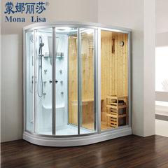 蒙娜丽莎正品直销蒸汽房豪华淋浴房隔断桑拿房干湿蒸房M-8251 1800*1200*2150MM