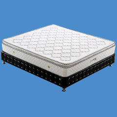 Manufacturers wholesale simeng silk mattress high density springs 1.5m 1.8m hotel natural latex matt 1.5 meters