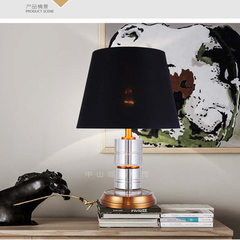 Crystal lamp zhongshan boju lighting decoration bedroom bedside postmodern simple crystal lamps luxu BJ1113-2 s