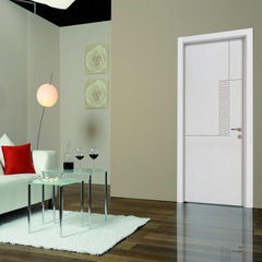 Foshan wooden door factory special price wholesale solid wood composite paint-free door | paint-free 40