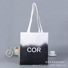 深圳环保帆布袋定制彩印学生棉布手提袋批发定做购物袋热升华印刷