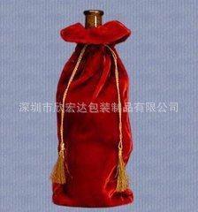 热销推荐 电子产品绒布袋 加厚首饰绒布袋 优质红酒绒布袋
