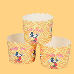 Baking-yang baking cake cups medium size high temperature resistant baking paper cups disposable pap color 70 * 54 mm