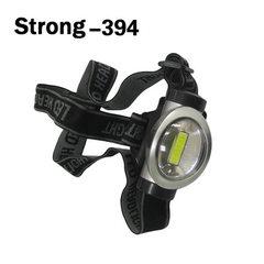 COB 塑料头灯 可调节照明角度 大功率强光钓鱼灯 户外探照灯