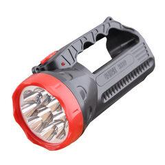 室外家用手提式充电强光远射探照灯 led户外9灯头二档手持手电筒 9灯头(2档位)