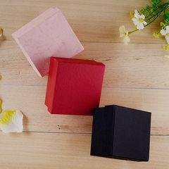 厂家现货高档首饰包装盒创意吊坠饰品盒子 手表盒天地盖纸盒 8.5*8*5.3