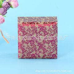 翻盖手表礼品包装纸盒 优质手镯礼品包装锦盒 直销批发 可订制