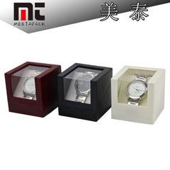 单表盒厂家现货批发单只塑胶手表包装盒透明PVC片开窗手表盒子 白色