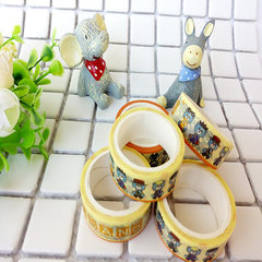 厂家供应 创意手撕胶带 可爱简约DIY装饰和纸胶带 日本手帐