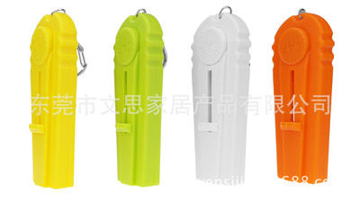 Creative plastic gift cap zappa ejection bottle opener beer opener bottle cap launcher household dep orange