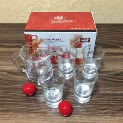Green apple glass liquor set wine dispenser +4 small glass gift manufacturers direct selling