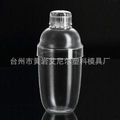 Plastic shaker with graduated shaker PC resin milk tea pot 530cc