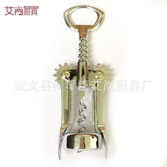 Manufacturer direct selling practical creative zinc alloy bottle opener multi-function zinc alloy wi