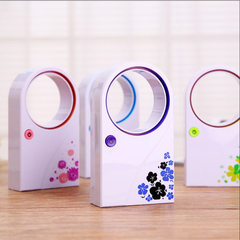 Creative quiet fan cooling dual - use usb battery small fan mini - desktop air - conditioning vanele pink