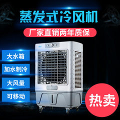 Manufacturers wholesale mobile cold fan air conditioning fan industrial water - cooled air - conditi grey