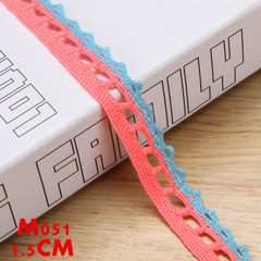 Lace customization processing color woven lace lace lace accessories DIY manual accessories decorati M051 Accept custom