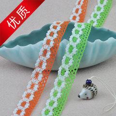 2.8cm lace home textile clothing accessories cotton thread lace tablecloth lace manufacturers direct orange