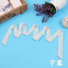 厂家直销  DIY 手工棉线沙发窗帘配件桌布花边 蕾丝花边辅料毛球 白色