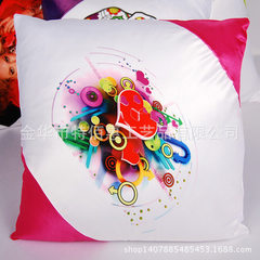 Factory direct sale to the corner holding pillow cover consumables scald with pillow cover personali Bright red 40 * 40 cm