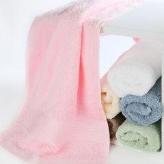 赛维丝特价批发新品浴巾小毛巾毛巾三件套天丝纯棉加厚 蓝色 方巾:28*48