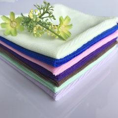 Ultra - fine fiber towel 30*30 washing car towel dry hair towel nanometer towel small square towel w Random color mix 30 * 30