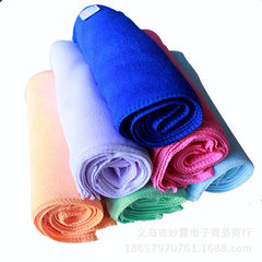 30*30 ultrafine fiber towel small square towel washing towel nano wipe towel dry hair towel 300gsm w random 30 * 30