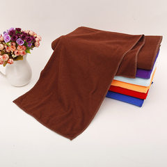 Wholesale super fiber car washing hair towel thin multi-functional kitchen cleaning absorbent towel  brown 30 * 70 cm