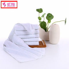 Gaoyang factory hotel towels disposable pure cotton hand towels gift towels daily necessities white  white 68 * 31